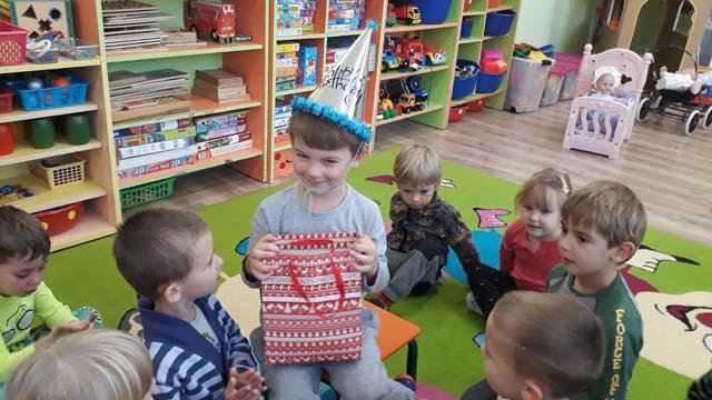Urodziny Kubusia w grupie II