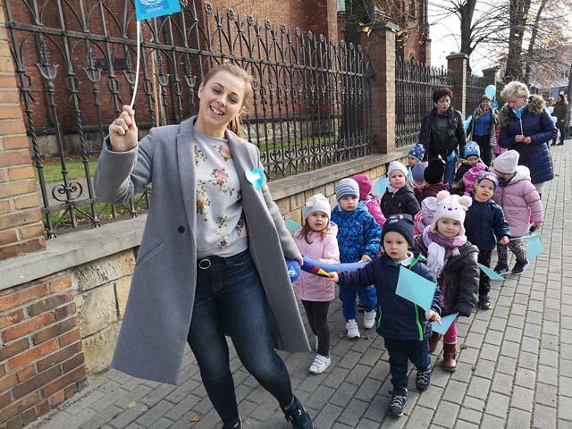 Marsz Praw Dziecka – UNICEF – w naszym przedszkolu