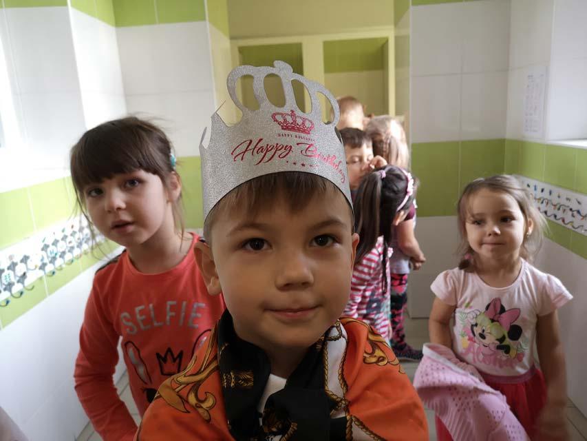 Urodziny Kubusia w gr. IV