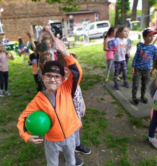 Dzień Dziecka 2 – liczne atrakcje i konkursy w ogrodzie przedszkolnym