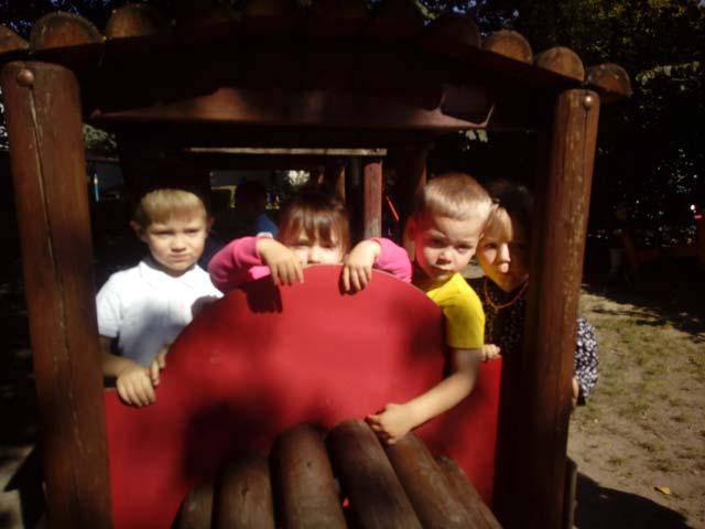 Ulubione zabawy w ogrodzie – gr. I – Krasnoludki